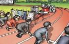 Ce dessin montre parfaitement les défis auxquels les femmes qui travaillent sont confrontées chaque jour