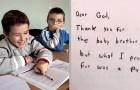 La professeur demande aux enfants de CE2 d'écrire des lettres à Dieu : les réponses sont hilarantes
