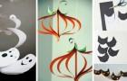 11 decorazioni semplici e divertenti da realizzare con la carta per festeggiare Halloween