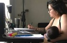 A teacher forbids a student from breastfeeding her daughter during online lessons: