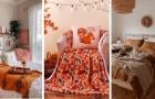 14 splendidi spunti per trasformare la vostra camera da letto sfruttando l'estetica autunnale