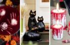 8 progetti fai-da-te per creare decorazioni di Halloween super-scenografiche col riciclo creativo