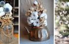 11 composizioni semplicemente adorabili da realizzare con i vaporosi fiori di cotone