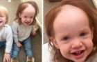 She went to the bathroom and spread her head with depilatory cream: this little girl's crazy new look