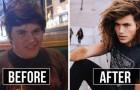 18 jongeren die trots laten zien hoe ze zijn veranderd van lelijke eendjes in zelfbewuste mensen