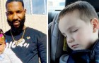 De vader wil de ramen niet breken om zijn dochter die in de auto opgesloten zit te redden: wanneer ze dat wel doen is het te laat