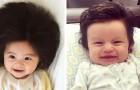 Bébés chevelus : 17 photos de bébés qui avaient déjà trop de cheveux à la naissance