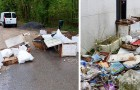 Un hombre descarga la basura en el bosque: luego de ser identificado, el alcalde le hace descargar toda la basura en su jardín