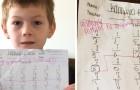 A 7-year-old boy is humiliated by his teacher because of the outcome of his math test: