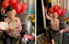 Riceve il diploma di scuola superiore a 93 anni dopo aver dovuto abbandonare gli studi quando era adolescente