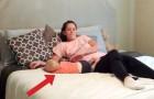 Una coppia vi mostra varie tecniche per allontanarvi da un bambino senza svegliarlo