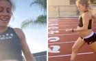 Une athlète enceinte de 9 mois court un kilomètre et demi en un peu plus de cinq minutes
