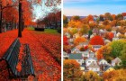 19 photos de forêts et de villes du monde entier rendues féeriques par l'arrivée de l'automne