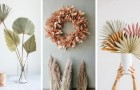 10 irrésistibles compositions et décorations DIY avec des feuilles séchées