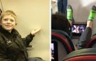 18 situazioni in aereo così irritanti che farebbero venire voglia a chiunque di scendere all'istante