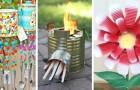 8 idées brillantes pour recycler les boîtes de conserve et les transformer en objets créatifs