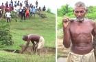 """Van """"dorpsgek"""" tot held: deze man heeft met de hand een kanaal gegraven om water naar zijn volk te brengen"""