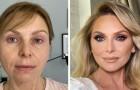 13 donne che si sono prestate ad una seduta di make up e che possono dirsi del tutto soddisfatte del risultato