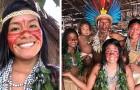 Cette jeune Indigène a apporté un smartphone auprès de sa tribu pour montrer la vie dans la forêt amazonienne