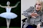 Uma bailarina com Alzheimer ouve as notas do