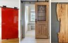 Barn Door : 13 exemples irrésistibles de portes coulissantes de style rustique pour décorer votre maison