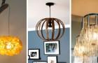 12 propositions super-fascinantes pour réaliser des lampes suspendues au design unique