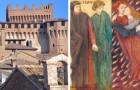 Il borgo di Gradara, la città in cui si consumò lo sfortunato amore di Paolo e Francesca che Dante colloca nell'Inferno