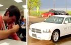 Han sparar pengar för att köpa sin avlidna pappas bil, men en man ger honom nycklarna och säger: