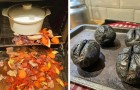 13 rampen in de keuken veroorzaakt door compleet onervaren mensen die dachten dat het voldoende was om het recept te volgen