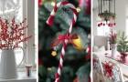 11 idées merveilleuses pour créer une atmosphère de noël magique en décorant dans des tons de blanc et de rouge
