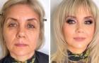 18 donne che hanno rivoluzionato il proprio look grazie all'abilità di una famosa truccatrice