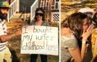 Acquista di nascosto la casa in cui la moglie aveva trascorso l'infanzia: il video della meravigliosa sorpresa