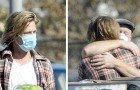Brad Pitt transported and hand delivered crates full of food for the neediest people in his city