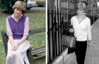 10 vecchie fotografie che testimoniano l'eleganza e il fascino senza tempo di Lady Diana