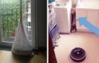 17 mensen die de robotstofzuiger alleen lieten en hem in de meest absurde situaties vonden