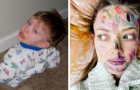 15 scatti che dimostrano che stare a casa con i figli può essere veramente sfiancate per un genitore