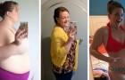 Eine ungesunde Beziehung abbrechen und fast 100 kg verlieren: die Fotos ihrer Transformation zum Wohlergehen