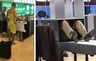 18 tra le scene più strane ed esilaranti che le persone hanno immortalato in aeroporto