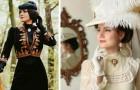 Dieses Mädchen kleidet sich jeden Tag, als ob sie im 19. Jahrhundert gelebt hätte: die Fotos ihrer Kleider sind wunderbar