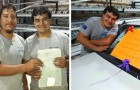 A guy travels many kilometers every day to go to work: his boss rewards him by giving him a car