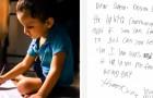Der Brief eines Kindes an den Weihnachtsmann bewegt das Netz: