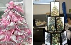 20 imaginative Christmas trees that fit in perfectly with the environment where they were made