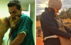 14 animali che hanno saputo mostrare affetto e gratitudine agli umani che si sono presi cura di loro