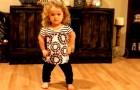 Het lijkt simpelweg een meisje dat danst, maar ze heeft een BELANGRIJKE boodschap!