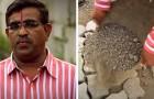 Un papà addolorato ricopre le buche stradali della città dopo che il figlio ha perso la vita in un incidente stradale