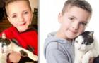 Een kind adopteert een kat met zijn zelfde genetische aandoening: ze zijn nu beste vrienden