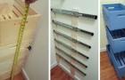 Le projet DIY pour ranger votre garde robe et placards avec des tiroirs fabriqués avec des cagettes en bois