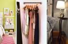 10 solutions brillantes pour faire de la place même dans les chambres les plus étroites