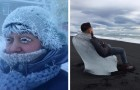 15 immagini ti mostrano di cosa sia capace il freddo quando le temperature scendono al di sotto dello zero