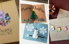 11 adorabili biglietti di Natale tridimensionali perfetti per dedicare alle persone un pensiero creativo